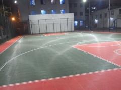 悬浮式拼装地板篮球场