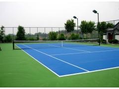 硅PU网球场