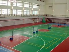 硅PU篮球场