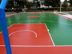 鞍山硅PU篮球场